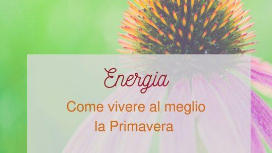 Energia di primavera Caterina Luchetti Natural Coach