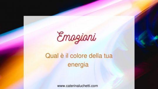 Qual è il colore della tua energia Caterina Luchetti Natural Coach