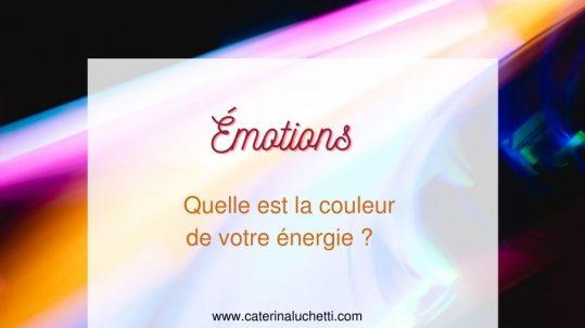 Quelle est la couleur de votre énergie Caterina Luchetti Natural Coach